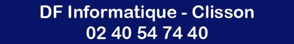 Coordonnées DF Informatique Clisson - 02 40 54 74 40